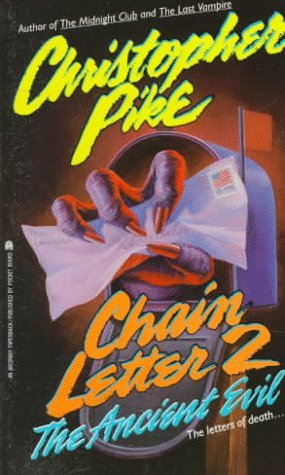 Image result for Christopher Pike The Chain Letters: 2 (The Ancient Evil )