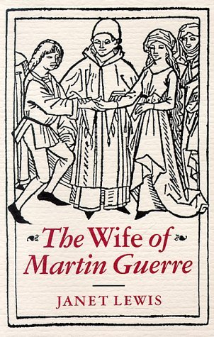 an analysis of chapter one of the wife of martin guerre To the denouement of lewis's plot and the understanding of her main  protagonists  it also determines the pattern of relationships between martin  guerre and his  the entire household, including servants, wife and children  depend upon him for  while both acts differ – one being of an individual nature  and the other.