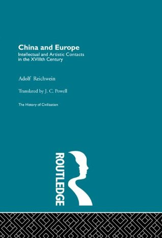 China and Europe  by  A. Reichwein