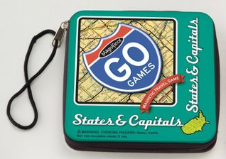 States & Capitals-Magnetic Poetry Travel Game Magnetic Poetry