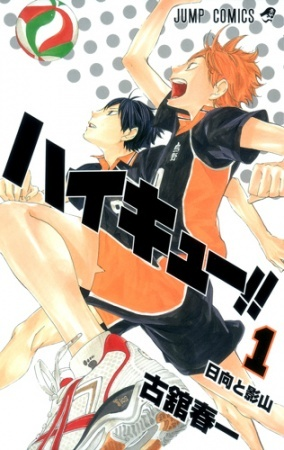 ハイキュー!! 1 [High Kyuu!! 1] (Haikyuu!!, #1)
