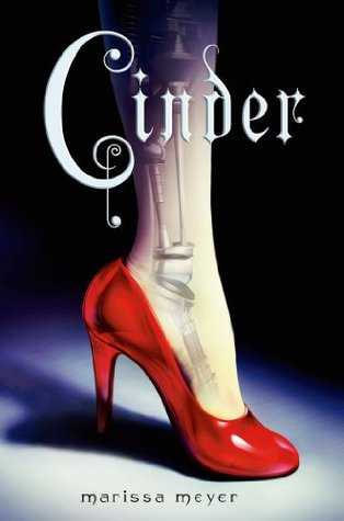 Cinder by Marissa Meyer, Book Cover