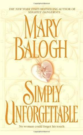 Book Review: Simply Unforgettable by Mary Balogh