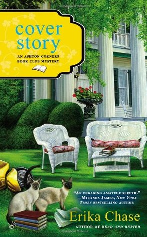 Cover Story (Ashton Corners Book Club Mystery, #3)