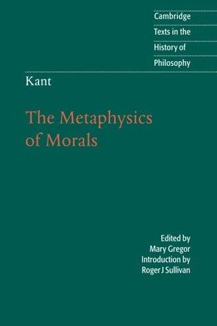Imanual kant metiphisics of morals