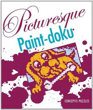 Picturesque Paint-doku Conceptis Puzzles