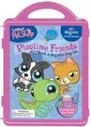 Littlest Pet Shop Book and Magnetic Playset  by  Readers Digest Association