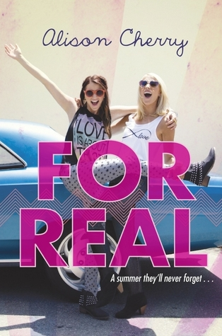 for real alison cherry book cover