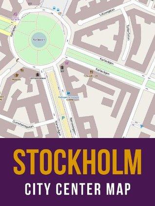 Stockholm, Sweden City Center Street Map  by  eReaderMaps
