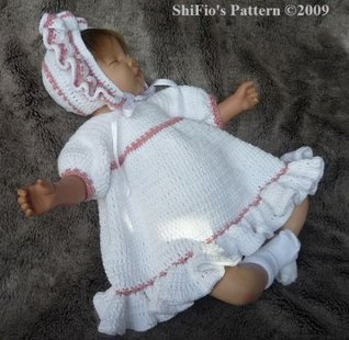 Country Baby Crochet Pattern 124 USA  by  ShiFios Patterns