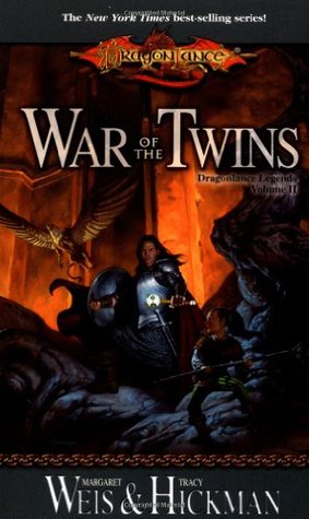War of the Twins (Dragonlance: Legends #2)  by Margaret Weis , Tracy Hickman  />