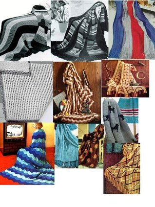 Vintage Knitting Afghan Patterns - 36 Homemade Knit Afghan Patterns - Baby Knit Afghan, French Poodles Afghan, Leaf Pattern Afghan and Many More Craftdrawer Craft Patterns