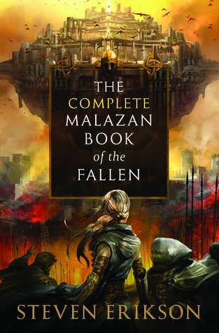 cover The Complete Malazan Book of the Fallen