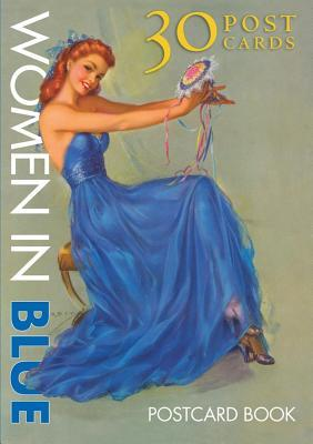 Women in Blue Postcard Book: 30 Post Cards  by  Laughing Elephant