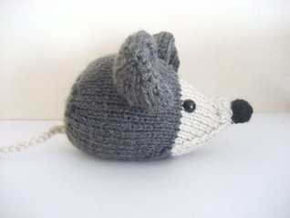 Mouse Knit Pattern Amy Gaines