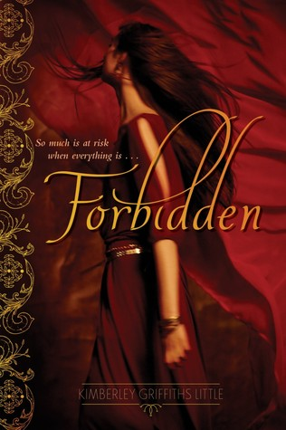 Forbidden by Kimberley Griffiths Little book cover