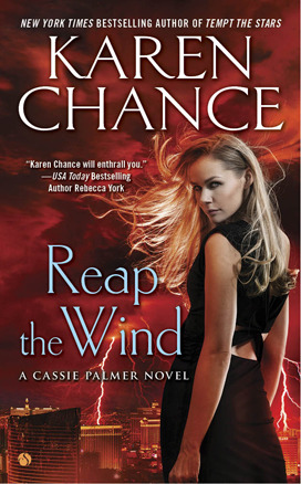 Reap the Wind by Karen Chance book cover