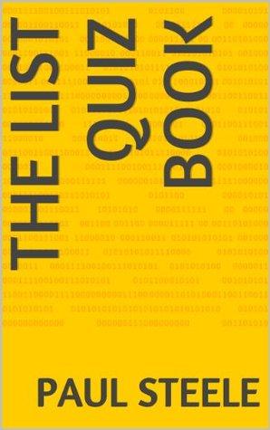 The List Quiz Book Paul Steele