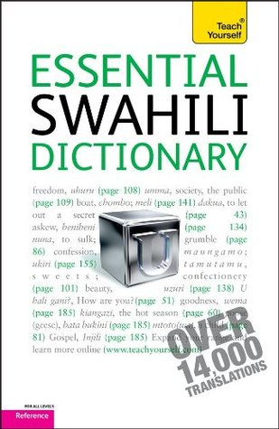 Essential Swahili Dictionary: A Teach Yourself Guide  by  D. V. Perrott