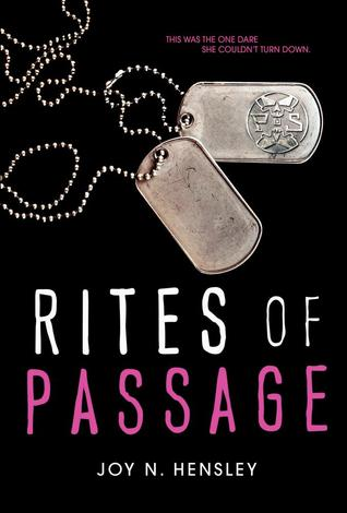 #Review ~ Rites of Passage by Joy N. Hensley | Anatea's Bookshelf