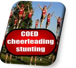 COED cheerleading stunting instruction booklet (CheerWiz Cheerleading instruction booklets)  by  Christopher Owens