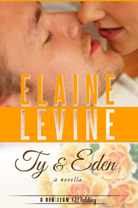 Meg's Review of Ty and Eden: A Red Team Wedding Novella (Red Team #4.5) by Elaine Levine