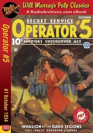 Operator #5 #7 October 1934  by  Curtis Steele