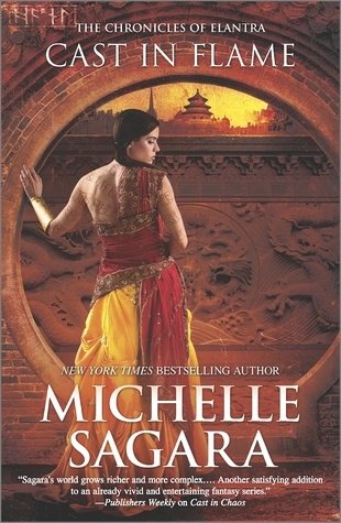 Book Review: Cast in Flame by Michelle Sagara