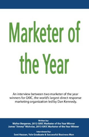 Marketer of the Year  by  James Nicholas