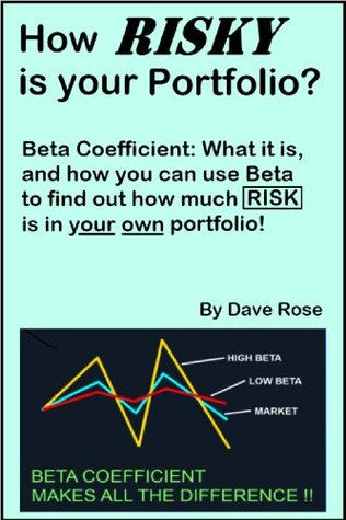 How Risky is Your Portfolio? How to Calculate Risk Using the Beta Coefficient  by  Dave Rose