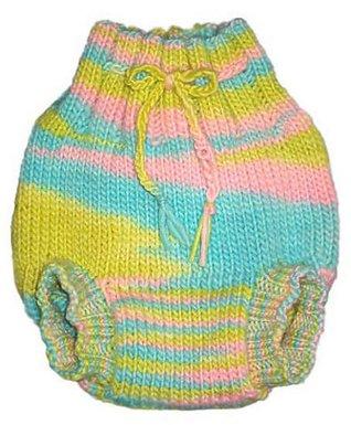 Pea Patch Diaper Soaker Knitting Pattern Michelle Guilmet-Buck