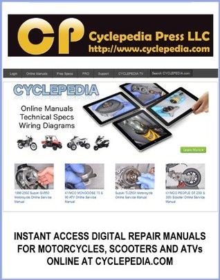 1987-2000 Yamaha XV535 Virago Service Manual Cyclepedia Press LLC