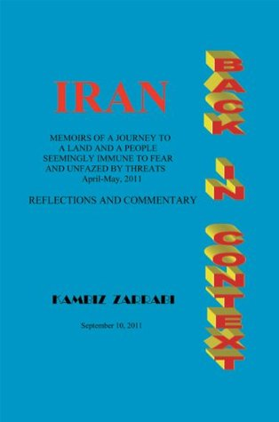 Iran Back In Context KAMBIZ  ZARRABI