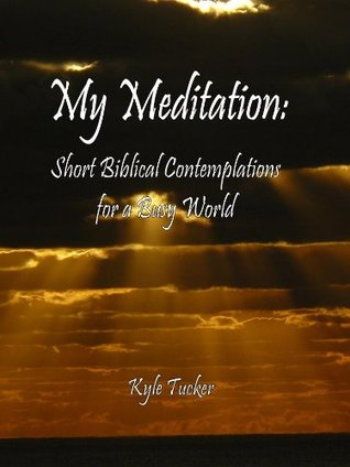 My Meditation: Short Biblical Contemplations for a Busy World  by  Kyle Tucker