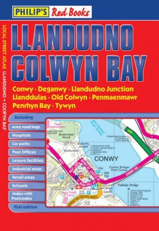 Philips Red Books Llandudno and Colwyn Bay  by  Various