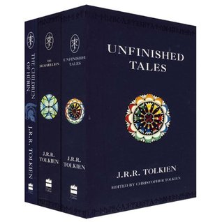 Unfinished Tales J.R.R. Tolkien 1st US Edition 1980 Hardcover w/Jacket and Map