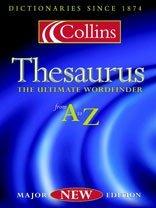 Collins Thesaurus A-Z Carol Collins