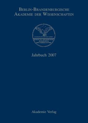 Jahrbuch 2007  by  Berlin-Brandenburgische