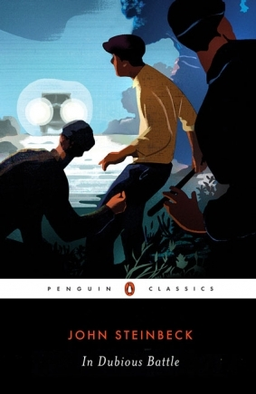 a summary of the novel in dubious battle by john steinbeck Free essay: john steinbeck's in dubious battle summary this story opens with the main character named jim nolan leaving behind his former life.