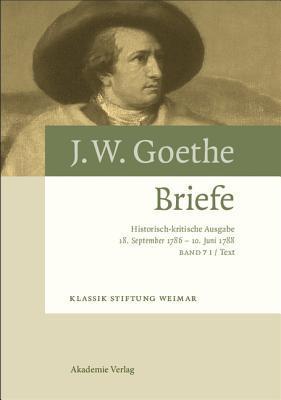18. September 1786 - 10. Juni 1788  by  Volker Giel