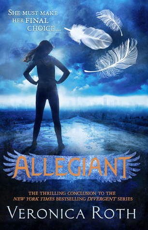 Allegiant by Veronica Roth book cover