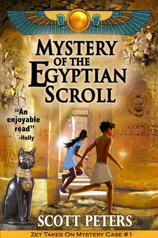 Cover image - The Mystery of the Egyptian Scroll