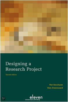 Designing a Research Project  by  Piet Verschuren