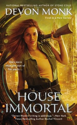 Review: House Immortal by Devon Monk (@jessicadhaluska, @DevonMonk)