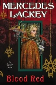 Book Review: Blood Red by Mercedes Lackey