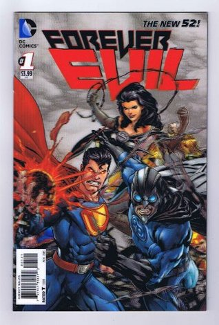 Forever Evil #1 Variant 3D Motion Cover 1 Per Store 2013 DC Comics  by  Geoff Johns