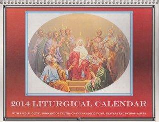 2014 Traditional Latin Mass Wall Calendar  by  Seraphim