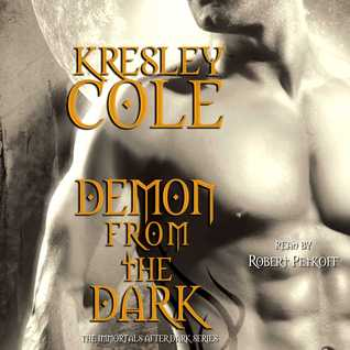 Audiobook Review: Demon from the Dark by Kresley Cole (@kresleycole, @petkoff)