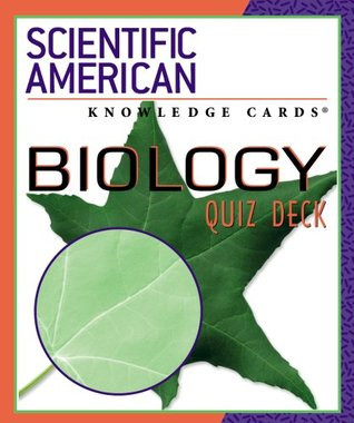Biology Quiz Deck: Scientific American Knowledge Cards�  by  Pomegranate Communications