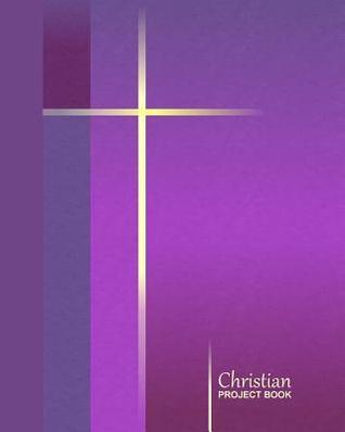 Christian Project Book: Simple Cross - Purple ( Journal / Large Notebook ) Smart Bookx